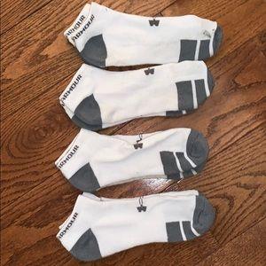 (4 Pairs) Under Armour Unisex Ankle Socks